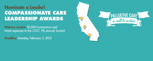 2015 Compassionate Care Leadership Awards