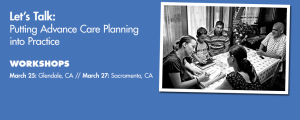 Let's Talk: Putting Advance Care Planning into Practice
