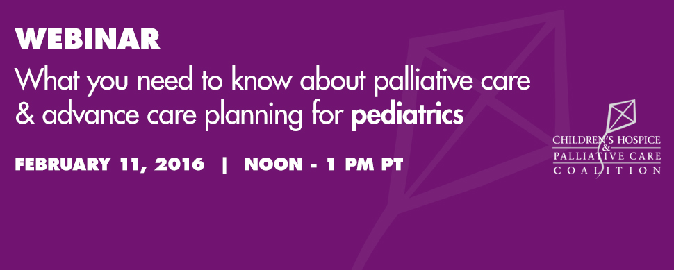 What you need to know about advance care planning and palliative care for pediatrics