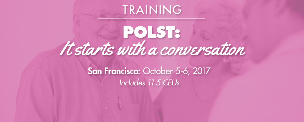 POLST: It starts with a conversation